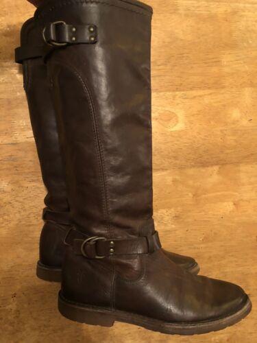 Frye Boots Shoes Women's 6 B Brown