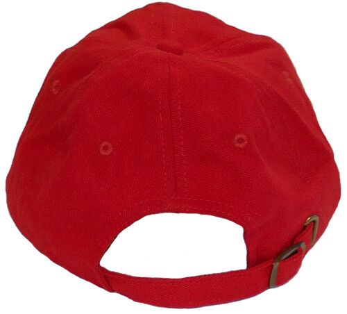 red body ALFA ROMEO embroidered hat
