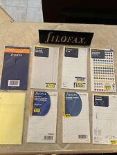 New Listinglot Of 8 Filofax Nameaddresstelephone Refill For Personal Size New