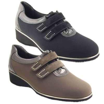 Women's Shoes Comfort Shoes Considerate Scarpe Ortopediche In Seta-flex Tecnosan 31325