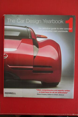 1 of 1 - CAR DESIGN YEARBOOK 1 - DEFINITIVE GUIDE TO NEW CONCEPT CARS Stephen Newbury