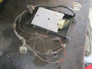81-87 K5 BLAZER JIMMY 4X4 V8 ENGINE CONTROL COMPUTER W/ WIRE HARNESS OEM |  eBayeBay