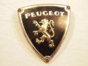 Ancien Insigne Mascotte Emblème Peugeot Pour 403 Ou 404 Les Clients D'Abord