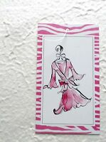 100 Clothing Hang Retail Tags Cute Pink Dress Rebe's Creations Tags Plastic Loop
