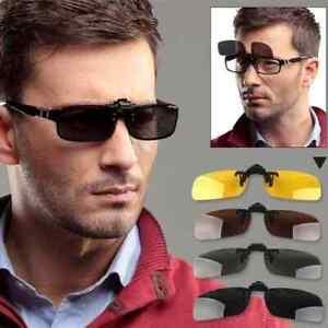Clip-Gafas-de-sol-Clip-on-Flip-para-gafas-graduadas-Clip-Sunglasses
