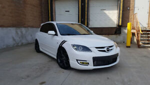 2009 Mazdaspeed 3 - Certified, Low KMS, all bolt ons, ~300hp