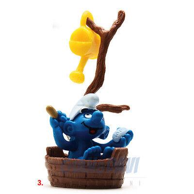 Puffo Puffi Smurf Smurfs Schtroumpf 4.0235 40235 In Bath Bagno Tinozza 3a Non-Stireria