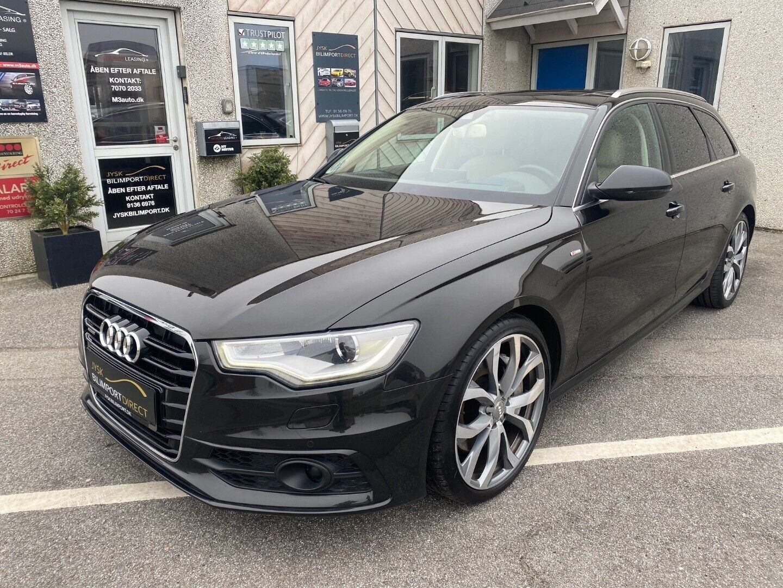 Audi A6 3,0 TDi S-line Avant quattro Tiptr 5d
