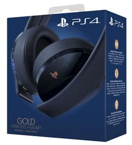 Caricamento dell immagine in corso SONY-Playsattion-4-PS4-Gold-Wireless- Headset-500M- 6468c7697bd8