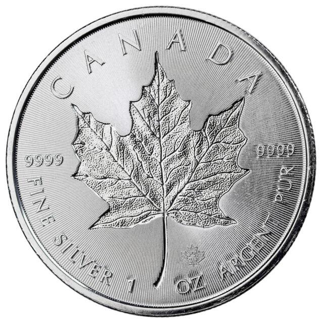 2018 Canada 1 oz Silver Maple Leaf - Incuse $5 GEM BU Coin SKU52127