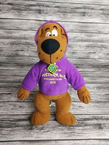 "NEW Scooby-Doo Plush Stuffed Animal Toy Mystery, Inc. Hoodie 14"""