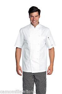 Caricamento dell immagine in corso GIACCA-Pasticcere-Leggera-BIANCA-x-Chef -Cucina-Ristorante- a715e4f7b0f5