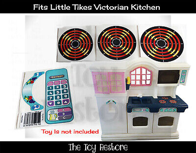 Toy Restore Replacement Stickers Fits Little Tikes Tykes Victorian Play Kitchen Ebay
