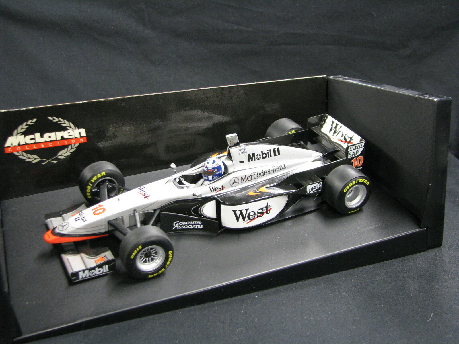 Minichamps West McLaren Mercedes MP4 12 1997 1 18  10 David Coulthard (JS) MC