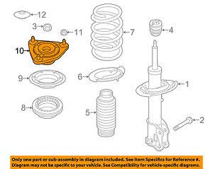 Remarkable Kia Oem 14 18 Forte Front Suspension Strut Mount 54610A5000 Ebay Wiring Database Cominyuccorg
