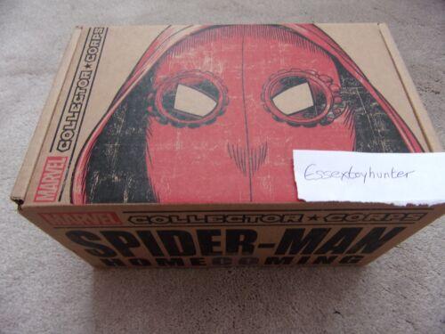 COLLETTORE Marvel Corps SPIDER-MAN RITORNO A CASA COMPLETO DI Nuovo Funko S L XL