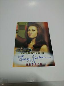 the-women-of-Star-Trek-In-Motion-TOS-autograph-series-A2-Sherry-Jackson-Andrea