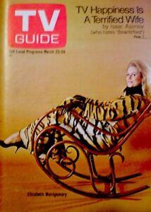 TV-Guide-1969-Bewitched-Elizabeth-Montgomery-Barbara-Bain-NM-MT-COA-Rare