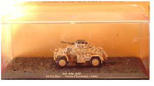 COMBAT TANK CARRO ARMATO Sd.Kfz. 222 Tunis (Tunisia) 1943 (n.6)