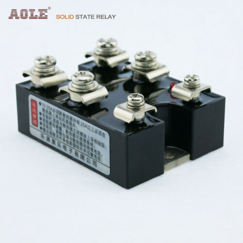 3-32VDC two-phase normally open horizontal solid state relay ASH-40DA-2 DC-AC