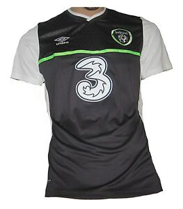 20f2e52a3d0 Image is loading Republic-of-Ireland-Jersey-Away-2015-16-Umbro-