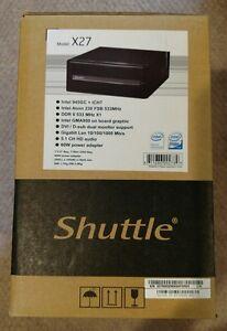 Driver: Shuttle X27 Barebone