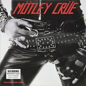 Motley-Crue-Too-Fast-for-Love-Limited-Edition-New-CD-Australia-Import
