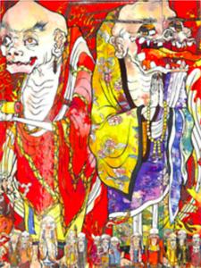 Takashi Murakami 2016 Exhibition Catalogue Art Book The 500 Arhats Japan New