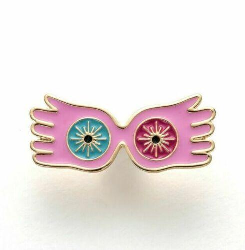 Genuine Harry Potter Luna Lovegood Spectrespecs Pin Badge