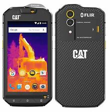 CAT® S60 Dual SIM Black, 4G LTE, Android™ 6.0 Marshmallow, Fotocamera Termica
