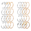 20G-2-32PCS-Nose-Ring-Set-Stainless-Steel-Lip-Ear-Hoop-Body-Piercing-Jewelry thumbnail 1