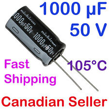 2pcs 1000uF 50V 12.5x25mm Nichicon VY For Power Supply TV AUDIO VIDEO STEREO
