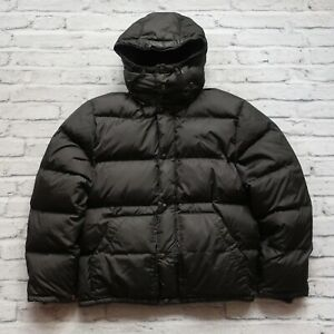 Vintage Polo Ralph Lauren Quilted Down Hoody Jacket Size M ...