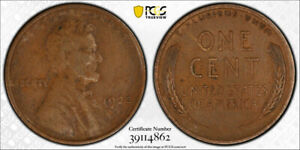 1922-No-D-1C-Strong-Reverse-Lincoln-Wheat-Cent-PCGS-XF-45-Extra-Fine-to-AU-Sharp