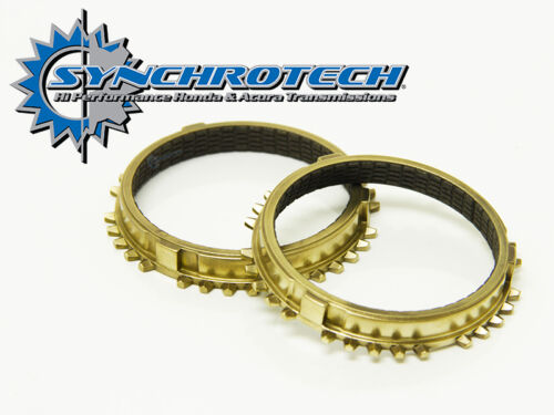 Synchrotech Civic Si  B16A2  3-4 Carbon Synchros