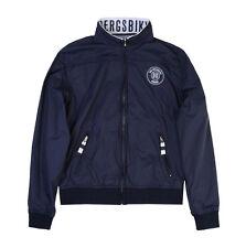 Bikkembergs Kids de transición chaqueta Navy para niño talla 6, 8, 10, 12, 14 nuevo