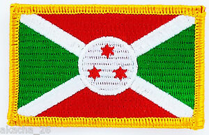 Patch Ecusson Brode Drapeau Burundi Insigne Thermocollant Neuf Flag Patche 7ta4tk8r-07232432-473184896