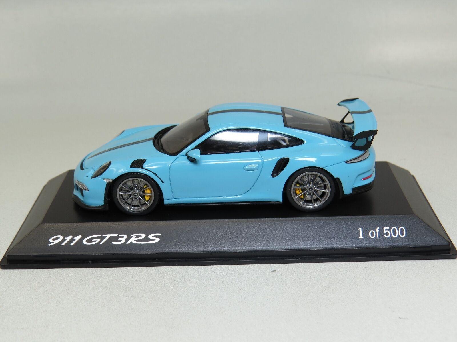 1 43 43 43 Spark Porsche 911 (991) GT3RS lightbluee a08fd3