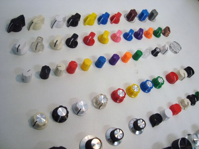 10x Boss style knobs for guitar pedal Vintage type