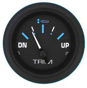 Sierra Eclipse Trim Gauge - Mercury - 68405P