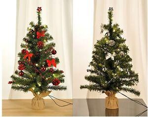 Led weihnachtsbaum k nstlicher tannenbaum christbaum tanne deko beleuchtet 75 cm ebay - Led deko tanne ...