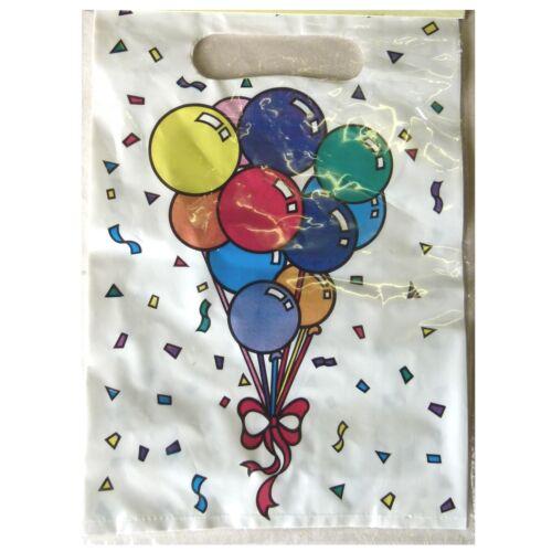 2 x 6 Party-Geschenkbeutel Ballondruck Kindergeburtstag 12 Stk 123451313