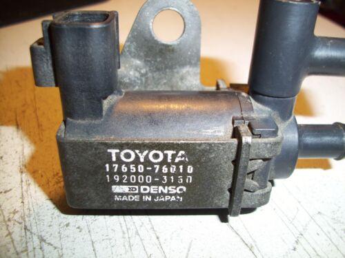 Toyota Previa 2.4L 1994-97 Genuine  Vacuum Switch Valve # 17650-76010