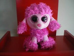 Ty Beanie Boos PATSY the poodle dog 6 inch NWMT. BRAND NEW JUST ... aca96f8e92b0