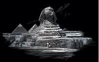 Kratzbild Kratzbilder Sphinx Großes Bild Neu +ovp