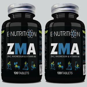Details about ZMA 240 TABLETS - ZINC MAGNESIUM & B6 - TESTOSTERONE BOOSTER  - GROWTH & MUSCLE