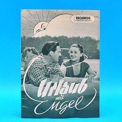 """520 Progress-filmillustrierte 30/1953 """"urlaub Mit Engel"""" Ddr Jaroslav Marvan üPpiges Design"""