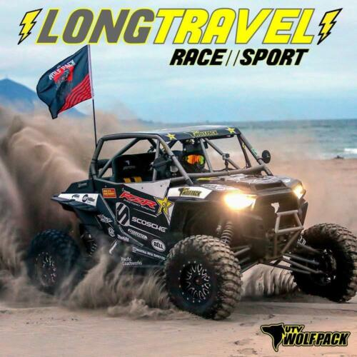 Polaris RZR XP1000 Sway Bar Down Links Heavy Duty Aluminum Wolfpack Motorsports