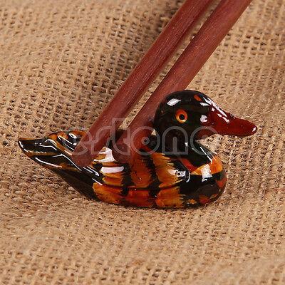 1PC Cute Duck Chopstick Stand Rest Rack Spoon Fork Chopsticks Holder Decor New