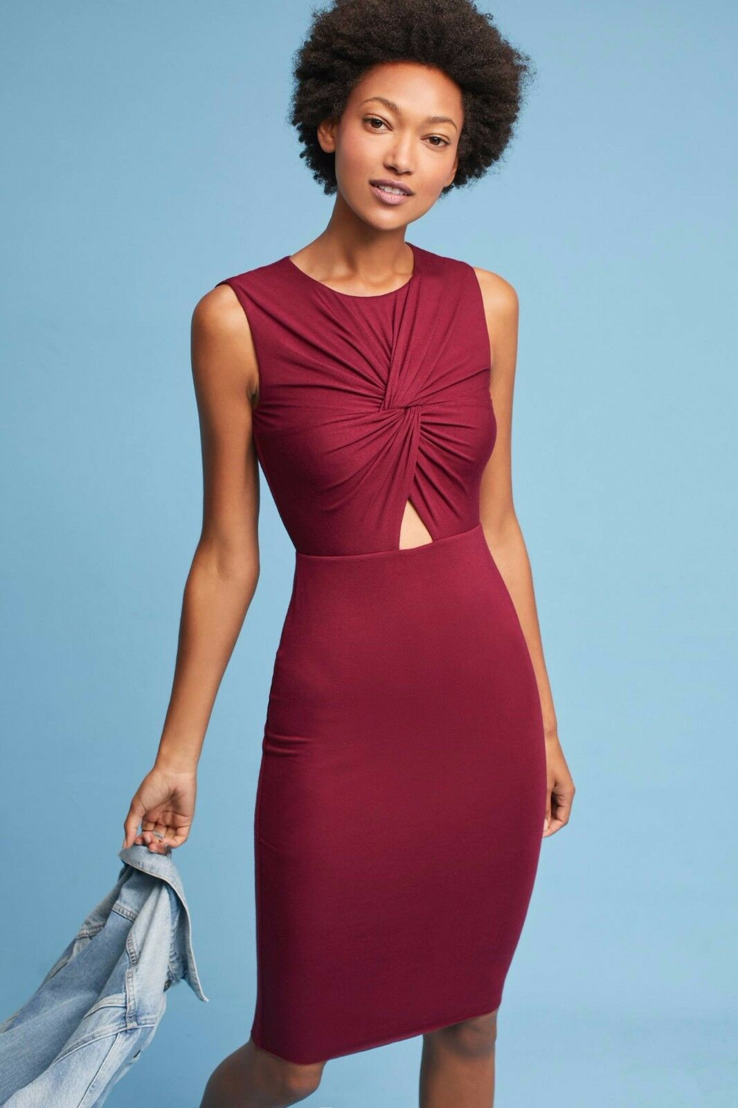 NWT SZ XL KNOTTED CUTOUT DRESS BY BAILEY 44